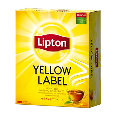 Lipton / Липтон Yellow Label (100пак)